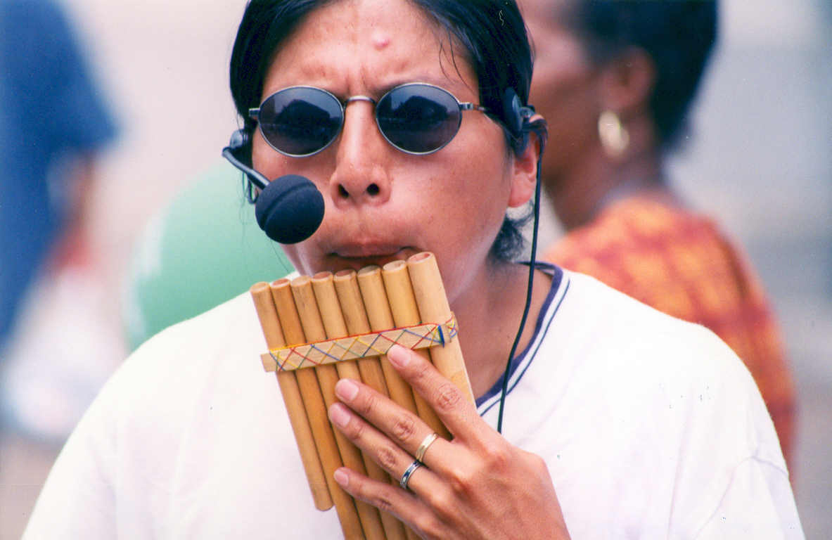 File:Pan flute played with microphone.jpg