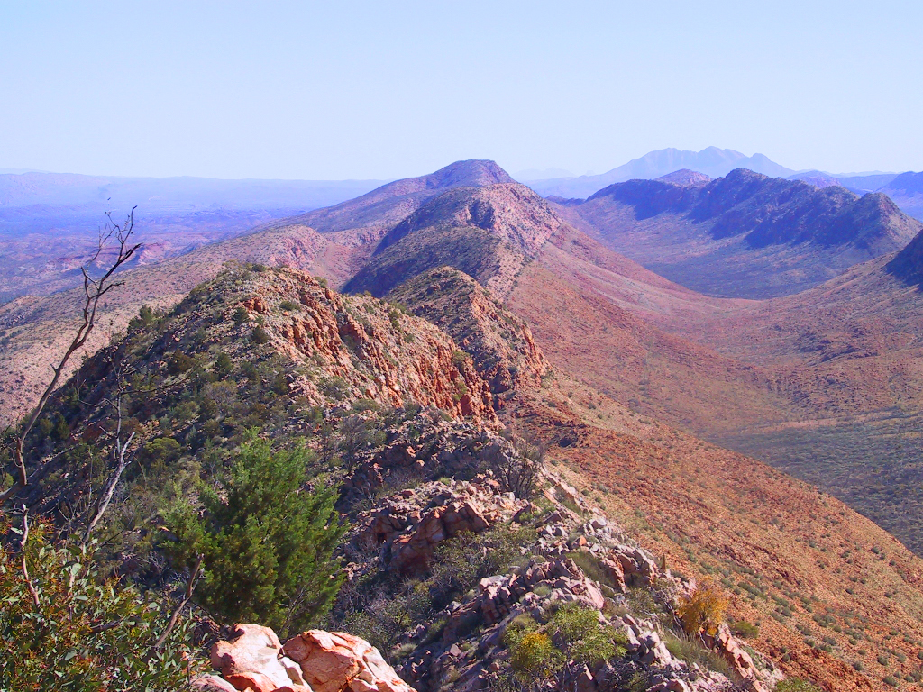 The MacDonnell Ranges in the Northern Territor...