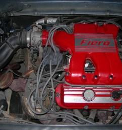 file 1988 fiero formula motor jpg [ 3072 x 2304 Pixel ]