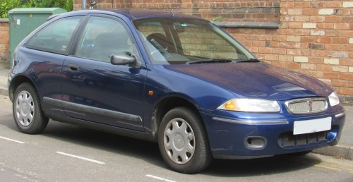 small resolution of 1998 rover 214 si 1 4 front jpg