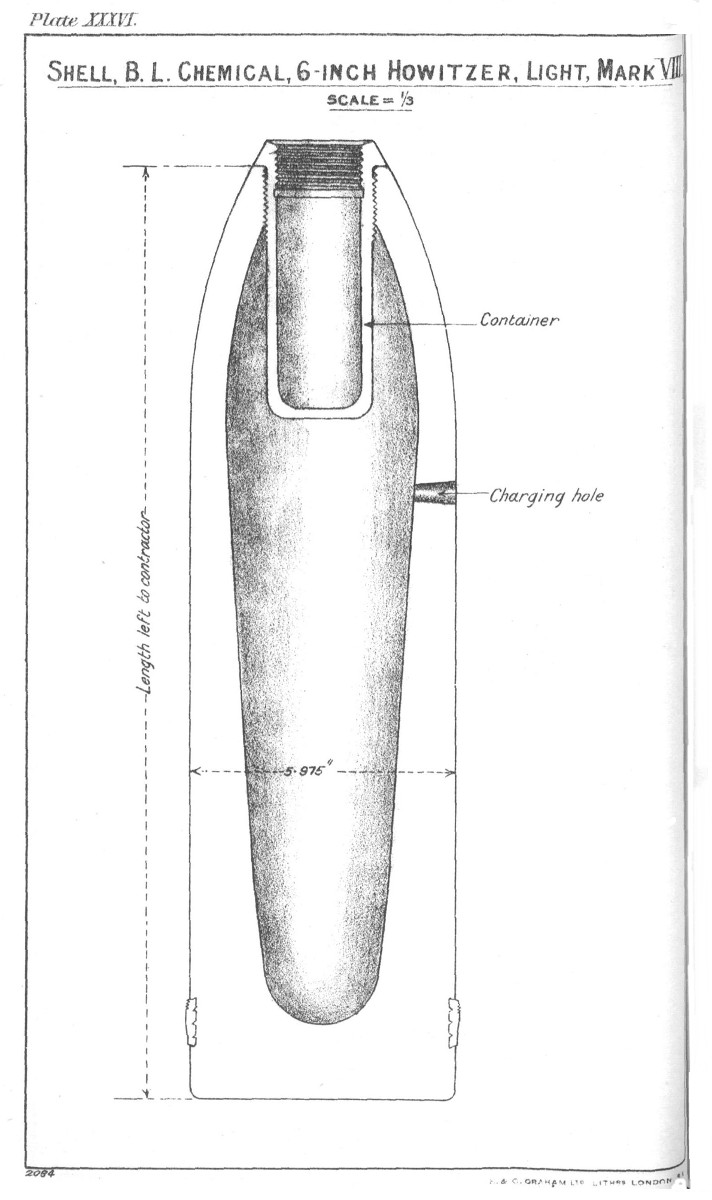 File:BL 6 inch 26 cwt howitzer chemical shell light Mk