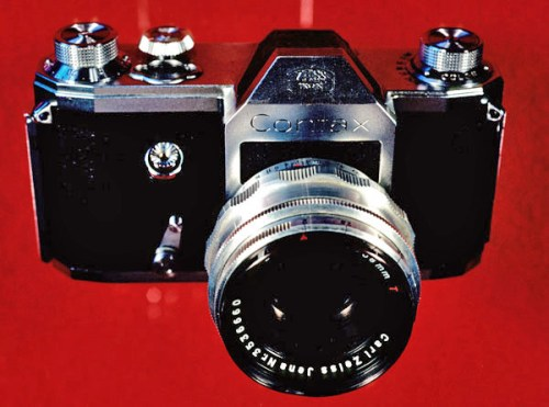 1949 Zeiss Ikon VEB Contax S, the first pentaprism SLR