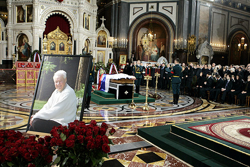 Death and state funeral of Boris Yeltsin  Wikipedia
