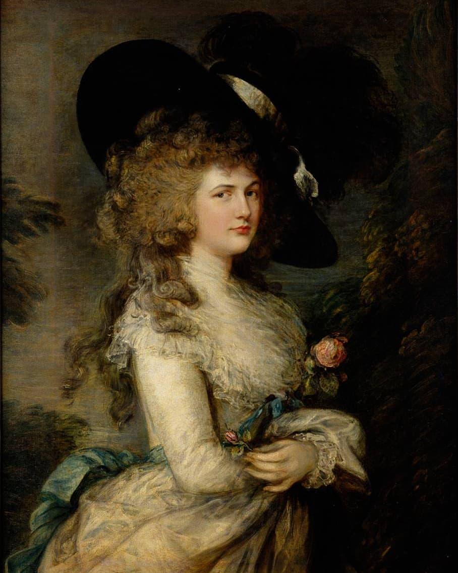 Georgiana, Duchess of Devonshire by Thomas Gai...