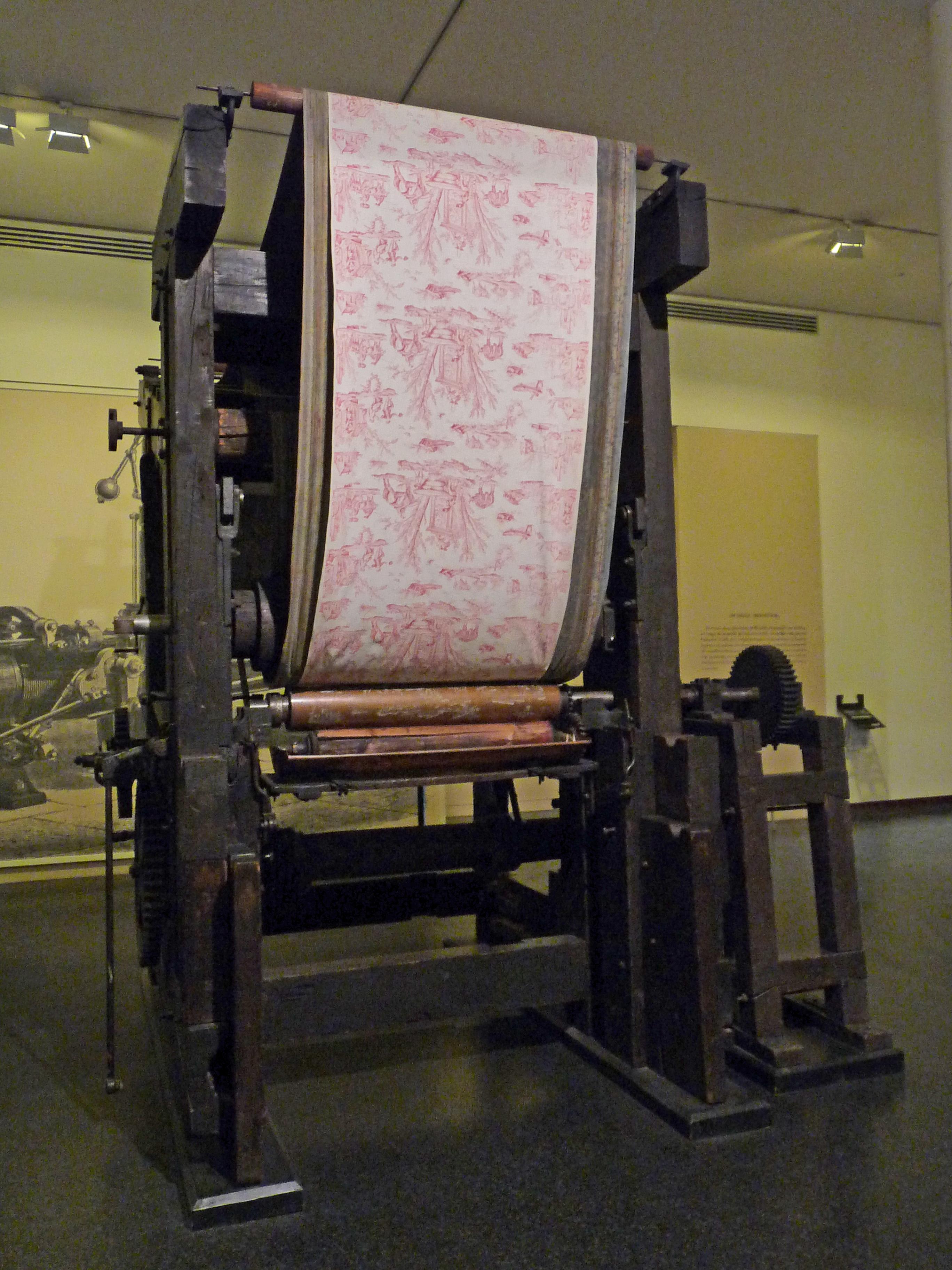 Musée De L'impression Sur étoffes : musée, l'impression, étoffes, File:Impression, Rouleau, Cuivre-Musée, L'impression, Mulhouse, (1).jpg, Wikimedia, Commons
