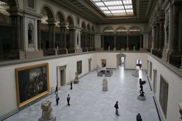 File Main Hall Of Royal Museum Fine Arts In Brussels