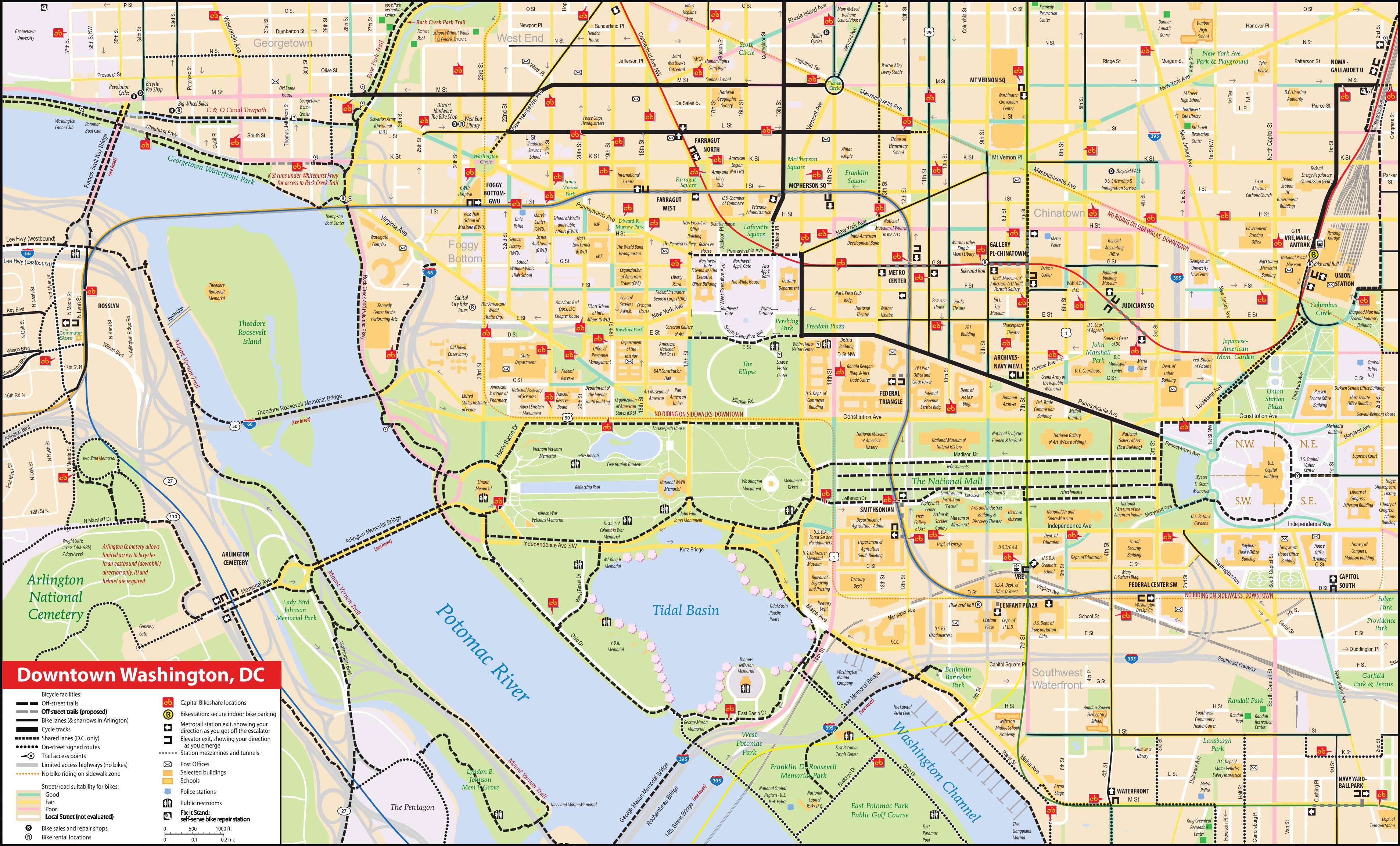 File Nps National Mall Bike Map