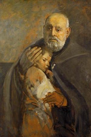 Polski: Portret św. Brata Alberta (Adam Chmiel...