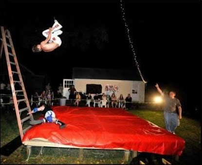 Backyard wrestling  Wikipedia