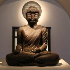 Living Room Art Wall Ideas Blue Sofa File:british Museum - Iron Figure Of The Buddha, Koryo ...