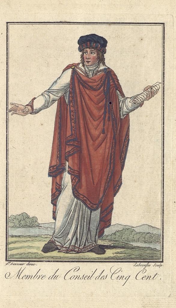 Cinq Cent Ou Cinq Cents : cents, File:Costume, Membres, Conseil, Cinq-cents.jpg, Wikimedia, Commons