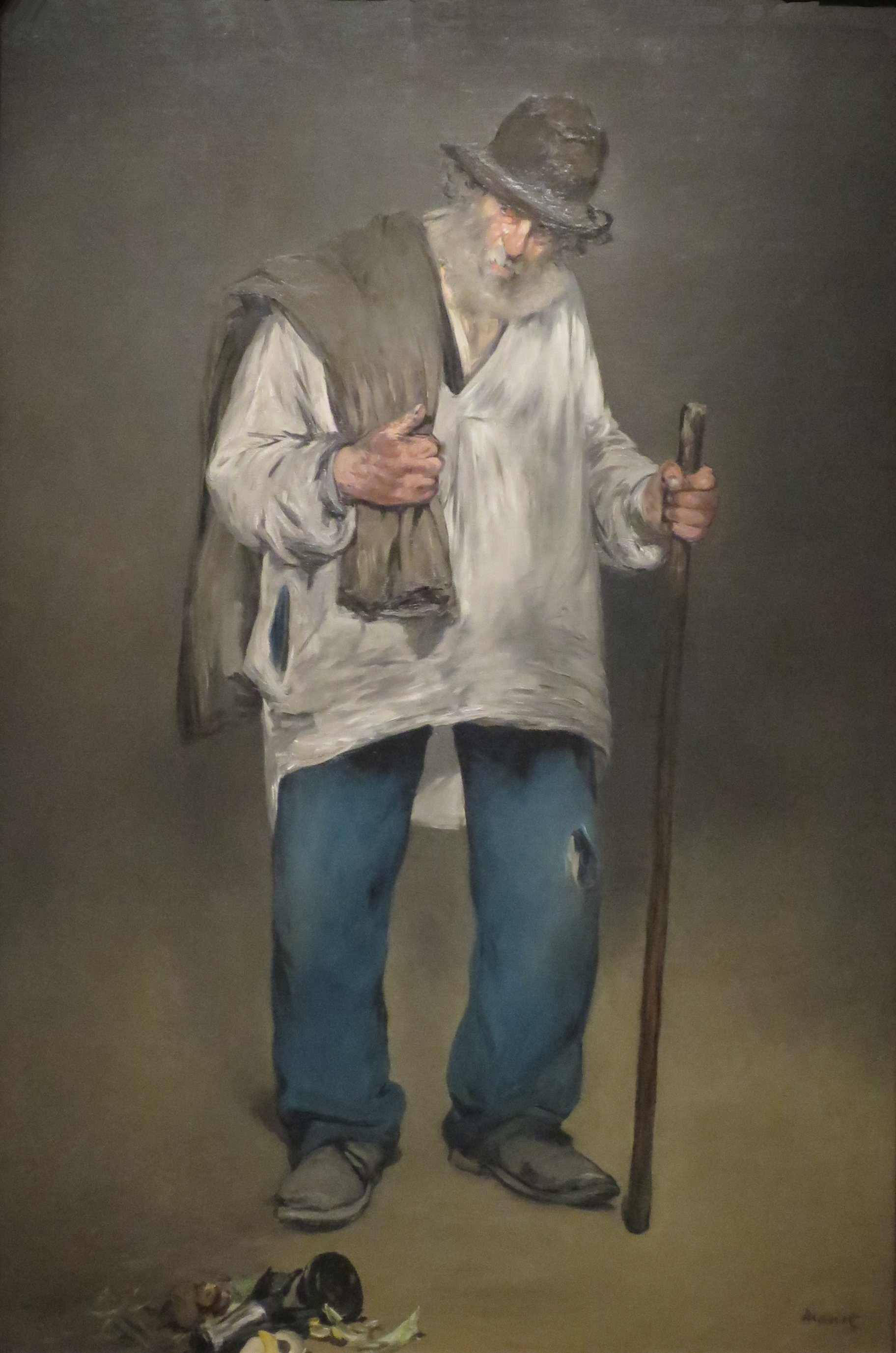Der Lumpensammler, Gemälde von Édouard Manet (1832-1883), public domain