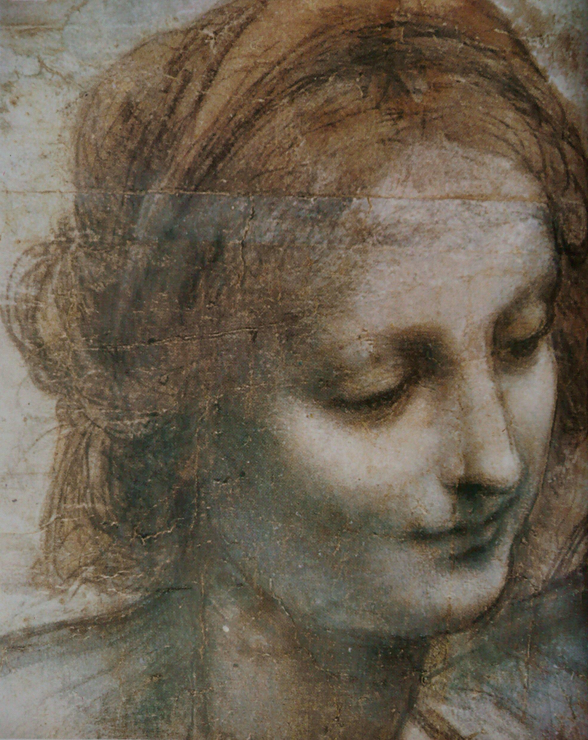 Oeuvre De Leonard De Vinci : oeuvre, leonard, vinci, File:Léonard, Vinci, Vierge,, Enfant, Jésus,, Jean-Baptiste, 1.jpg, Wikimedia, Commons