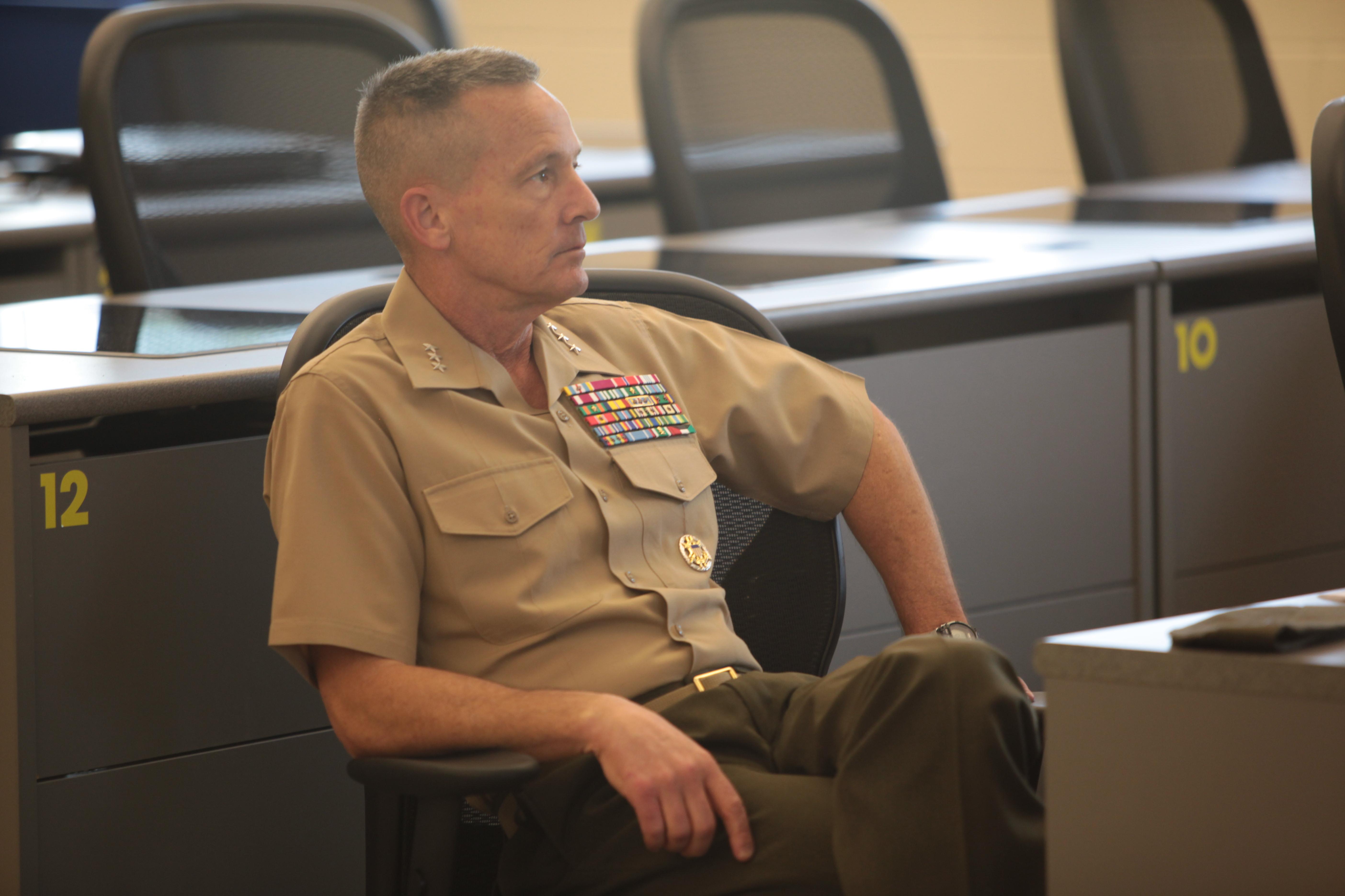 FileLieutenant General William M Faulkner Deputy Commandant Installations and Logistics