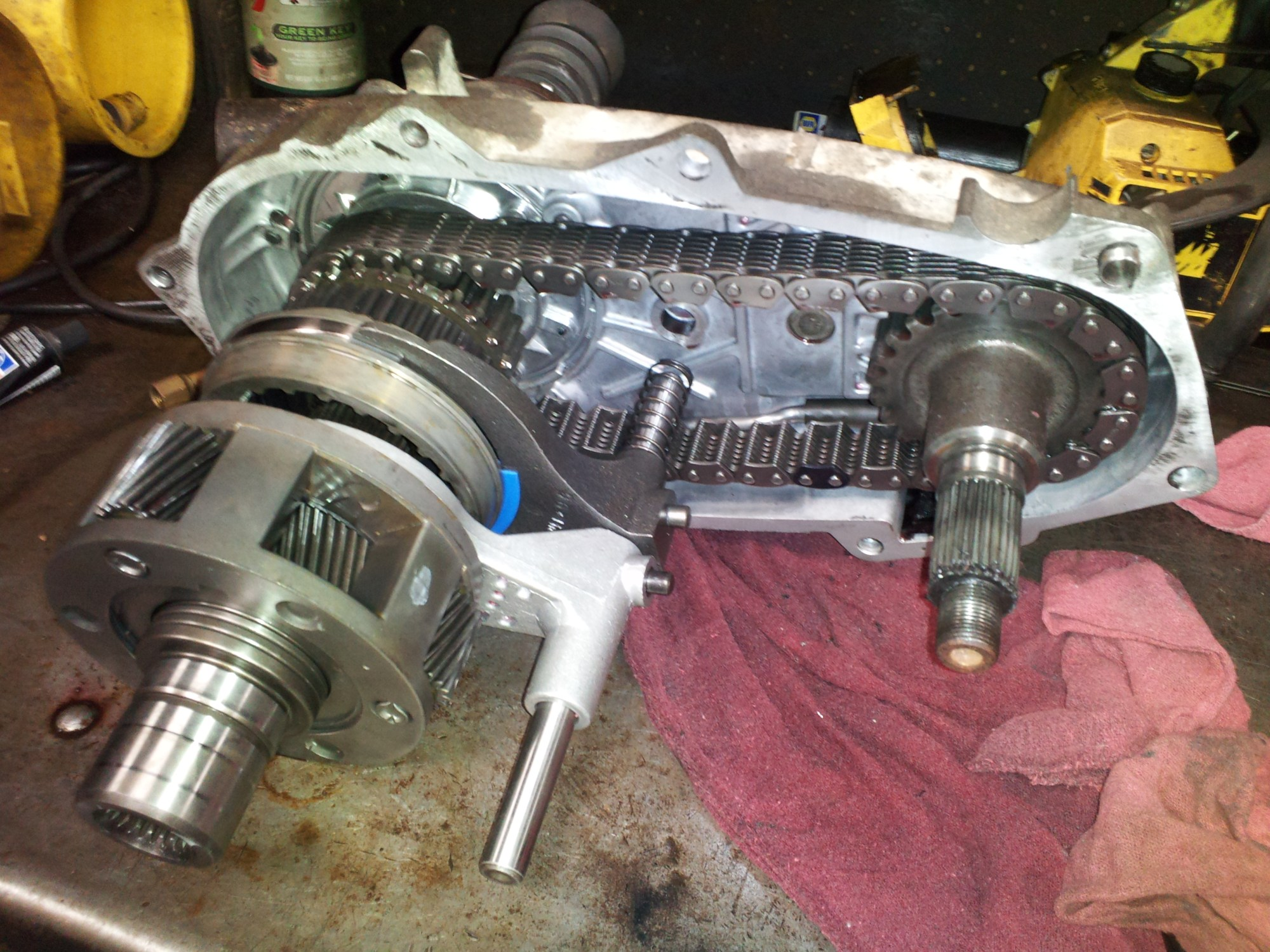 hight resolution of transfer case