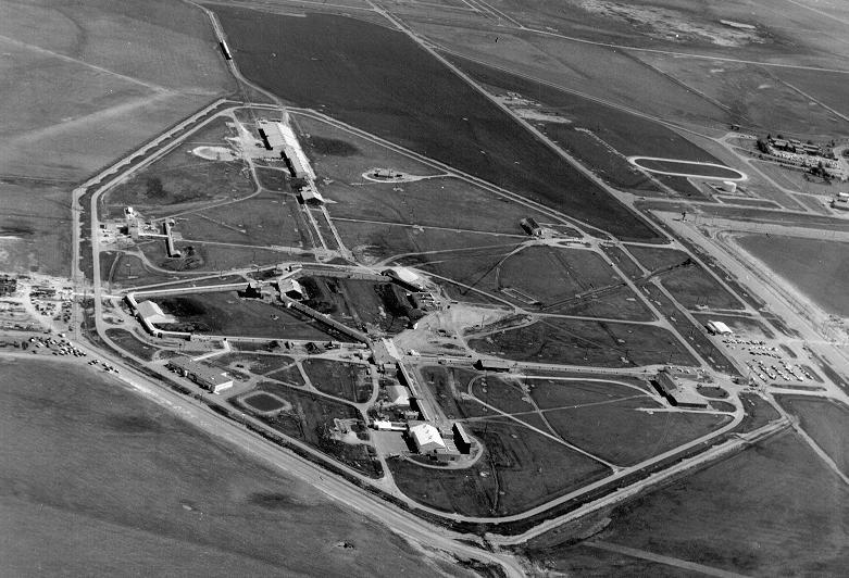 English: View of the Pantex plant in a photo o...