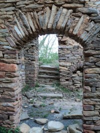 File:Stone doorway view Rock House Stokes County North ...