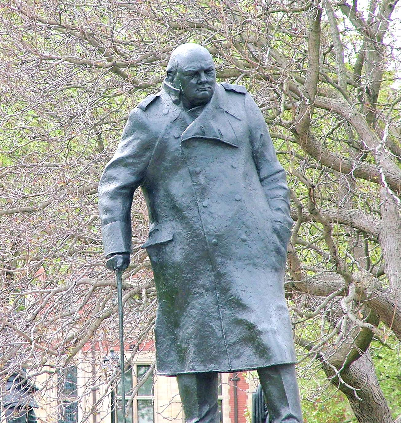 Churchill-Denkmal in London