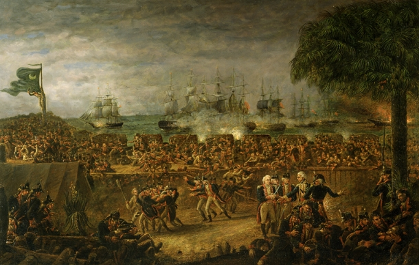Battle of Fort Moultrie