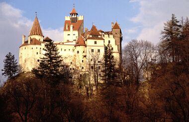 Castelul Bran (vedere din sud)