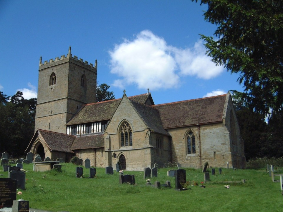 Photo of St John the Baptist parish church, Kinlet, Shropshire