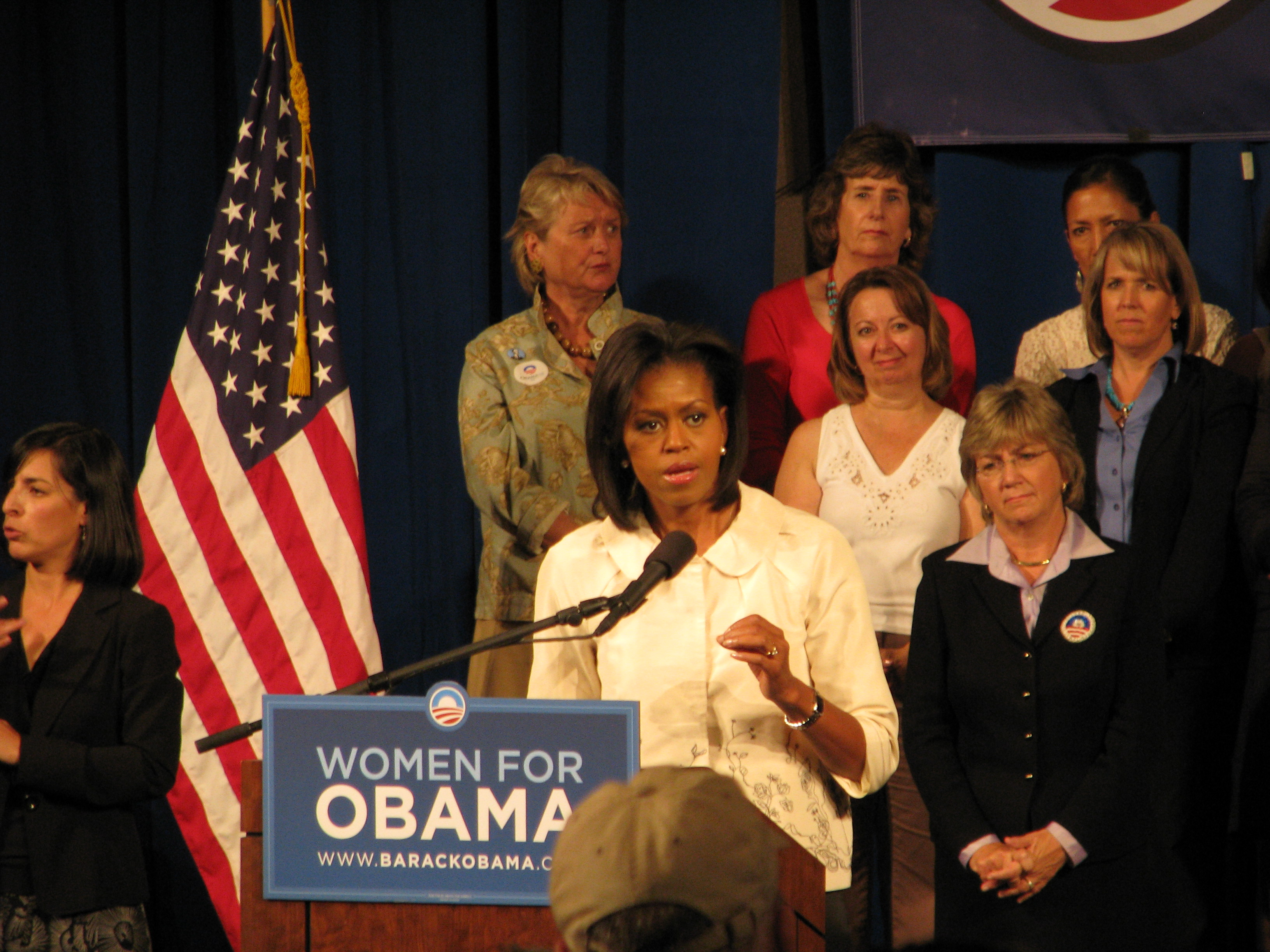 File Michelle Obama At The University Of New Mexico On