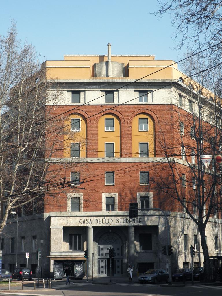 FileMilano casa dello StudenteJPG  Wikimedia Commons