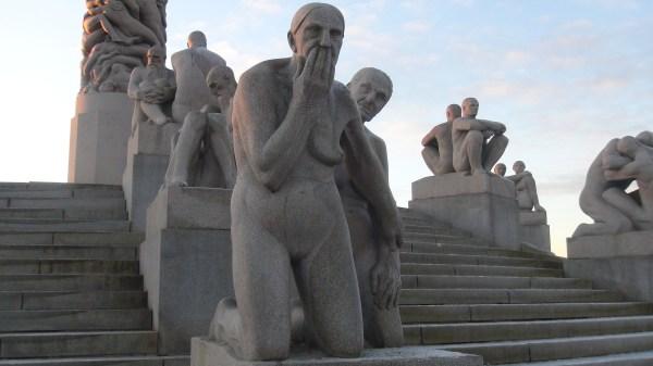 File Sculptures Monolith Plateau In Vigeland