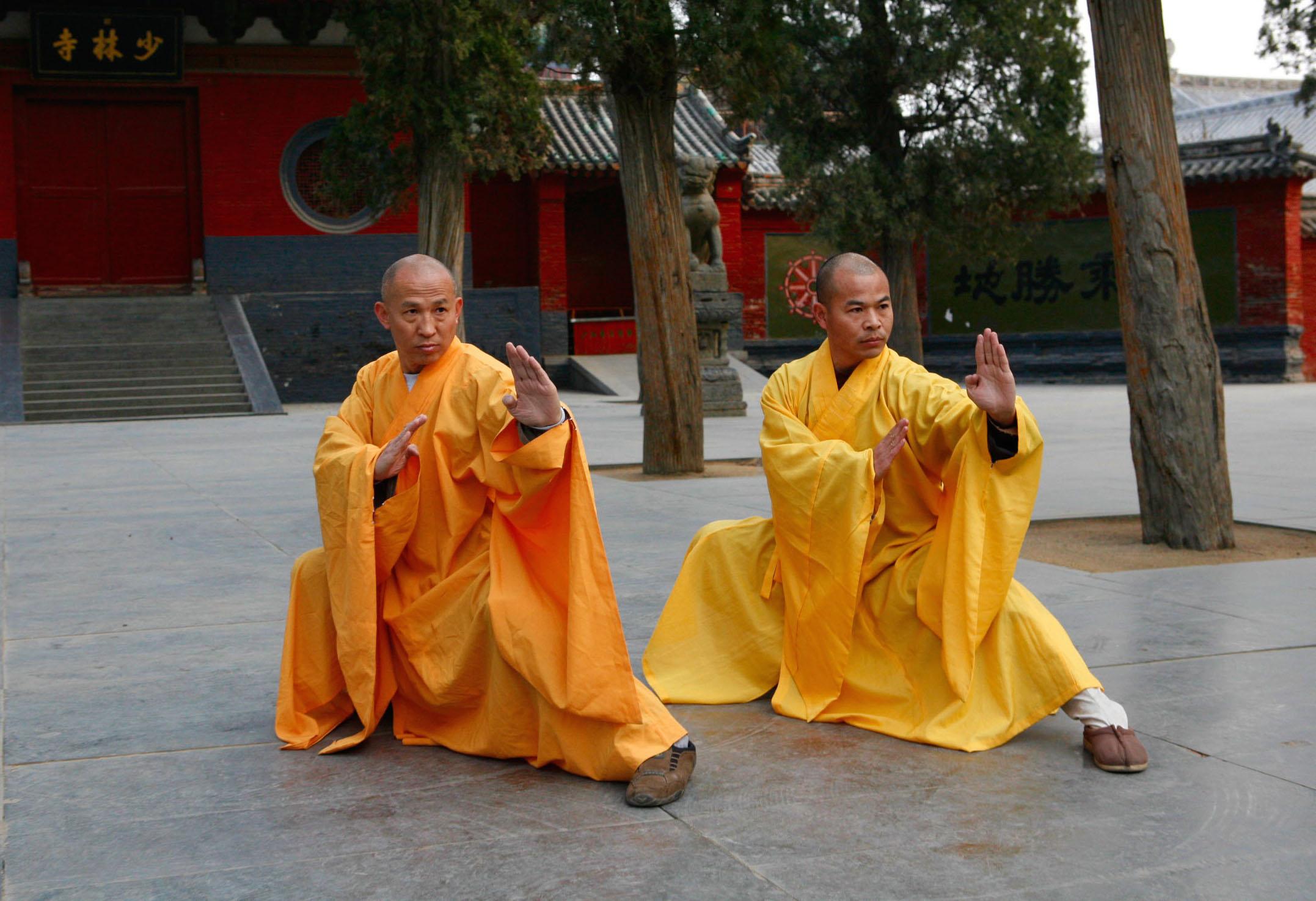 kung fu monastery diagram