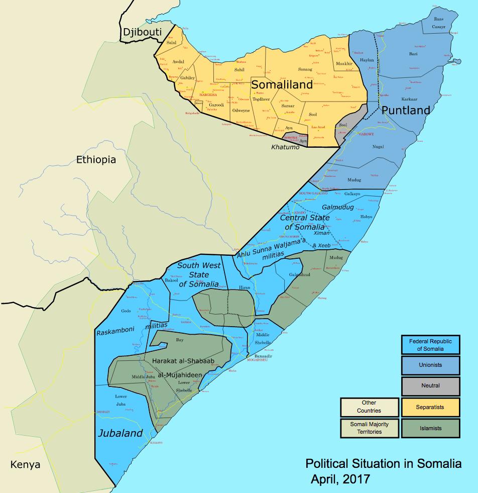 States and regions of Somalia - Wikipedia