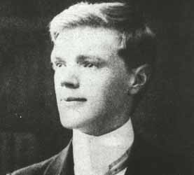 D. H. Lawrence, world famed author (1906)