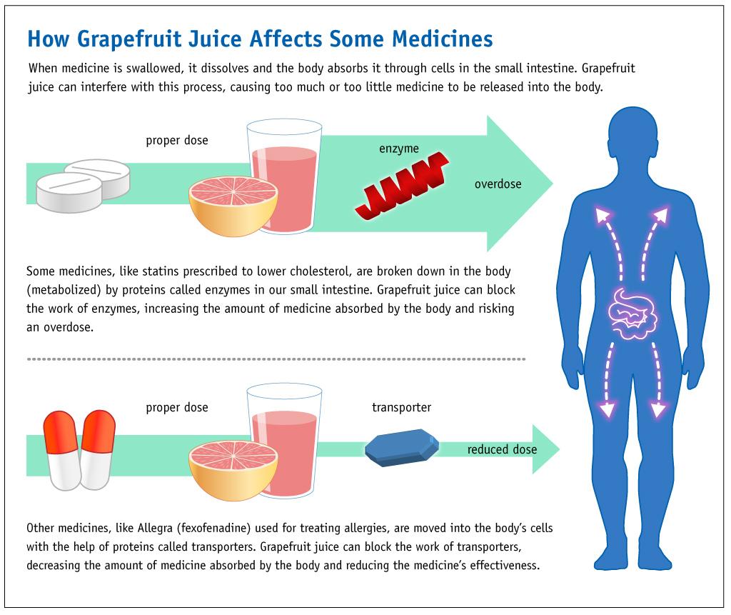 Grapefruit–drug interactions - Wikipedia