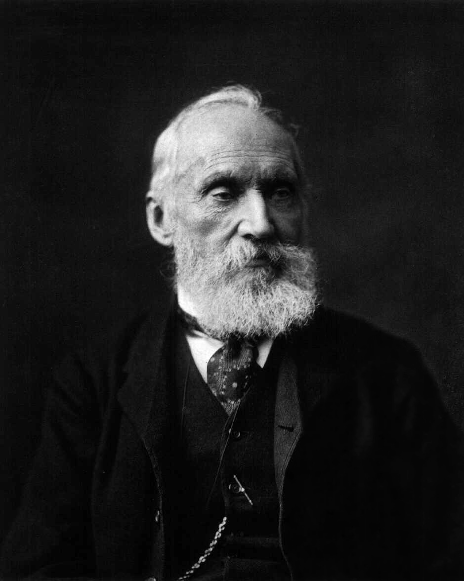 Photograph of William Thomson, Lord Kelvin.