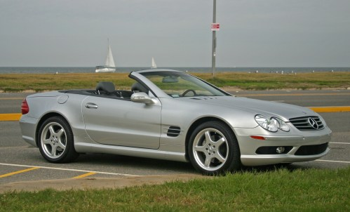 small resolution of file mercedes benz sl500 silver open jpg