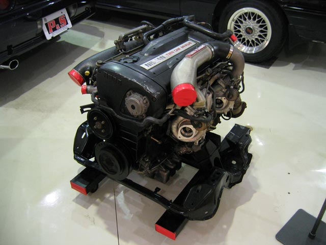 FileNissan RB26DETT engine on display at Prince and
