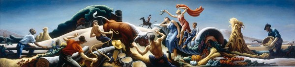 Thomas Hart Benton Achelous and Hercules