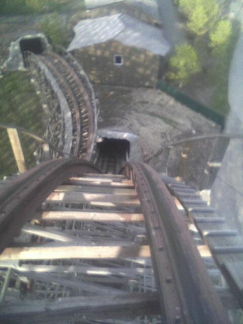Tremors roller coaster  Wikipedia