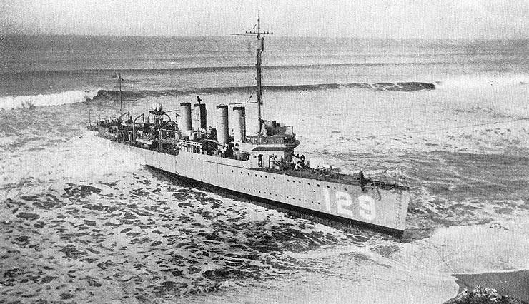 USS DeLong DD129  Wikipedia