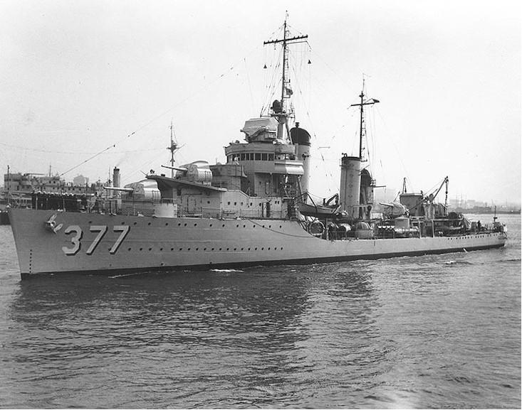 USS Perkins DD377  Wikipedia