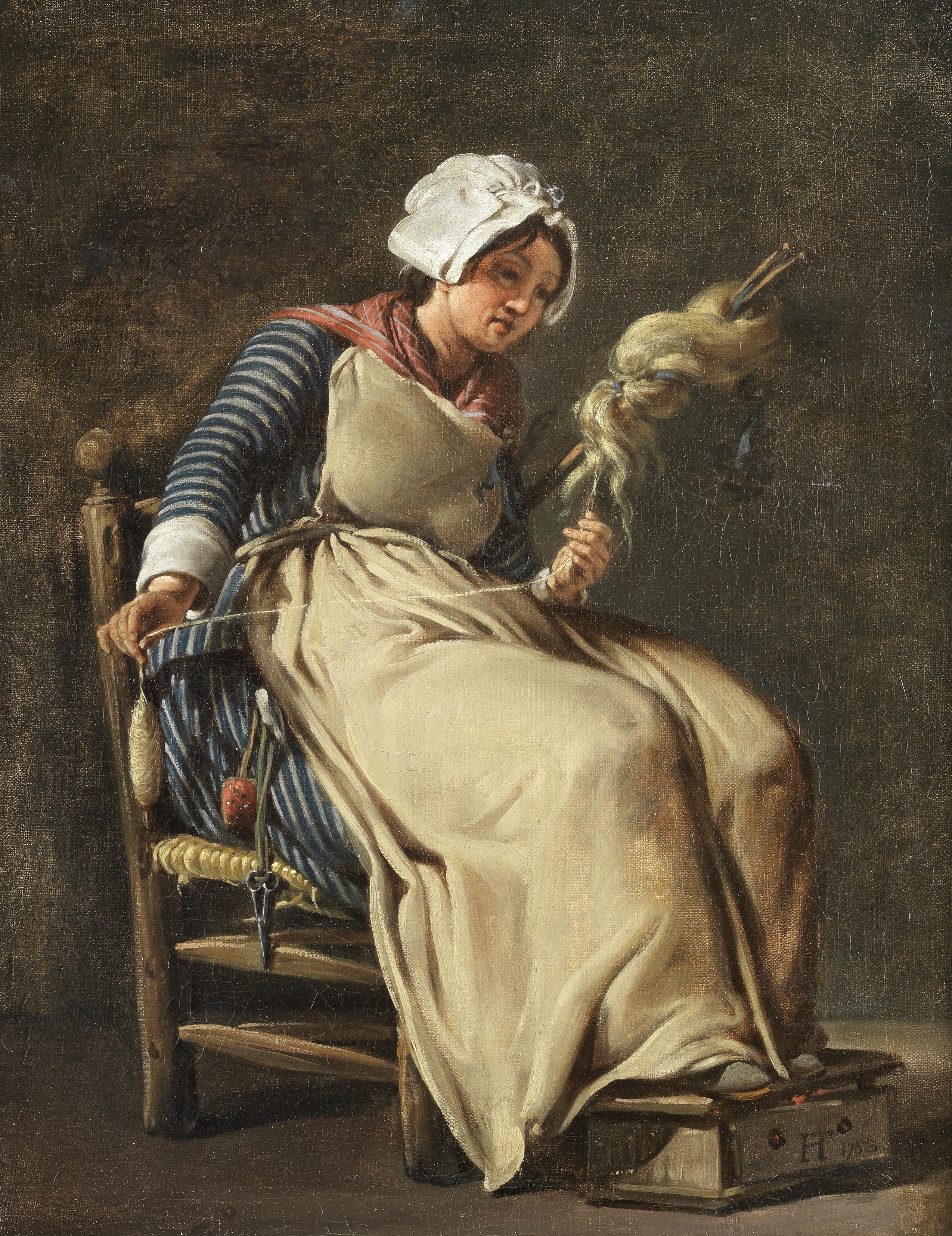 kitchen maid cabinets refacing file hugues taraval a 1783 jpg wikimedia commons