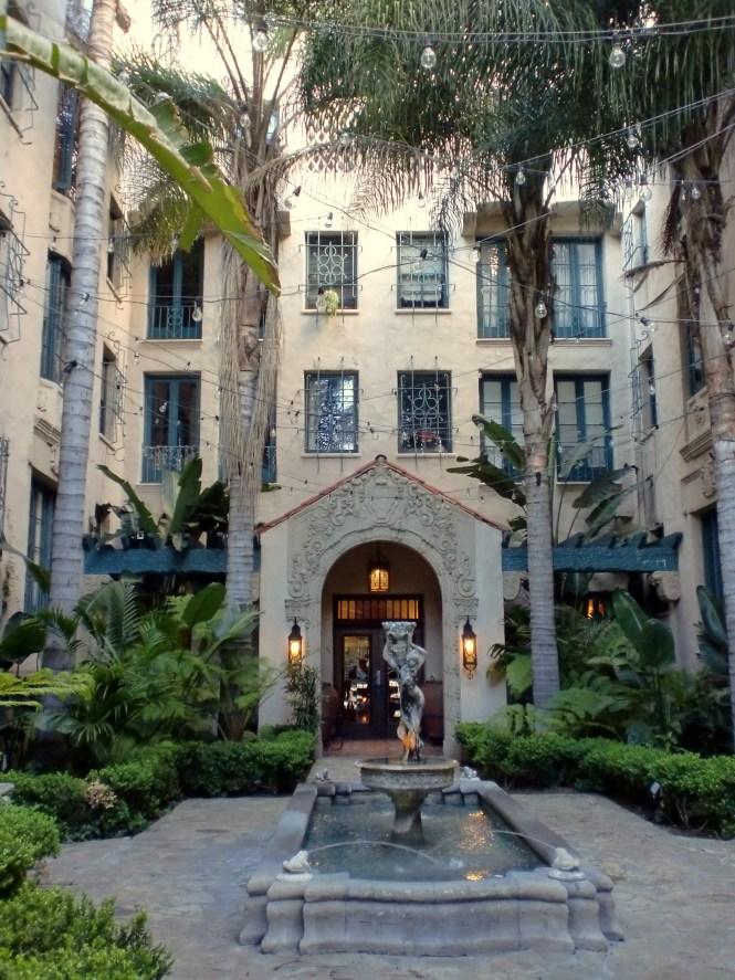 File Los Altos Apartments Courtyard Angeles Jpg