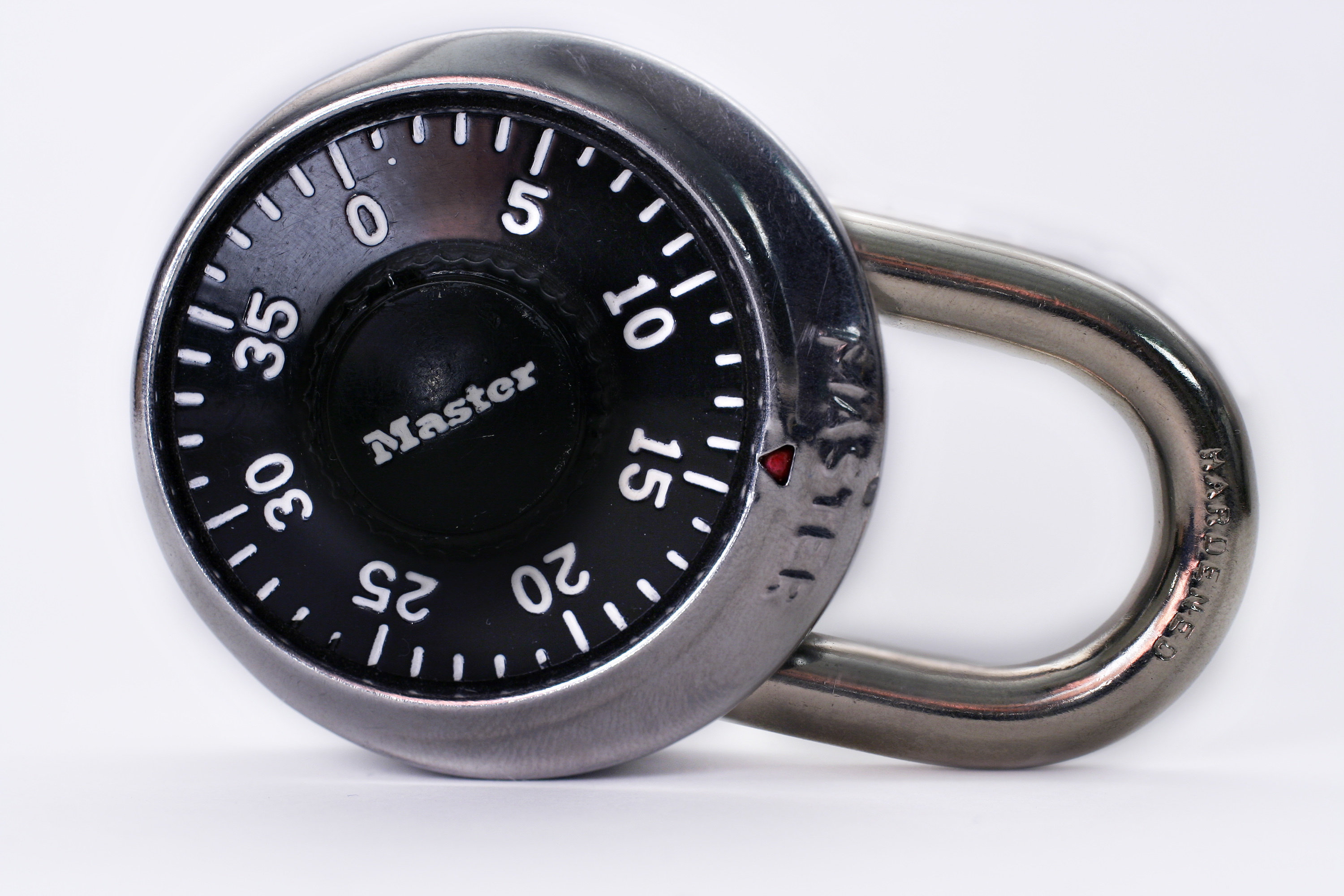 A Master Dial Combination Lock