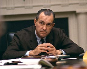 English: DCI Richard Helms, in the White House...