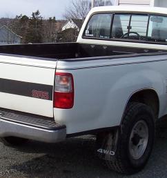 1993 toyota t100 4x4 rear view [ 1737 x 956 Pixel ]
