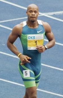 Asafa Powell at the 2006 ISTAF athletics meet