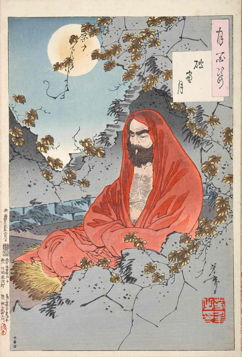 Image result for Bodhidharma