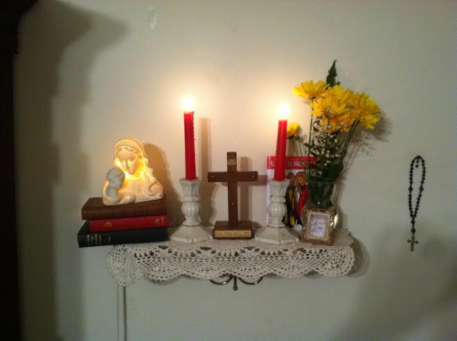 Home altar  Wikipedia