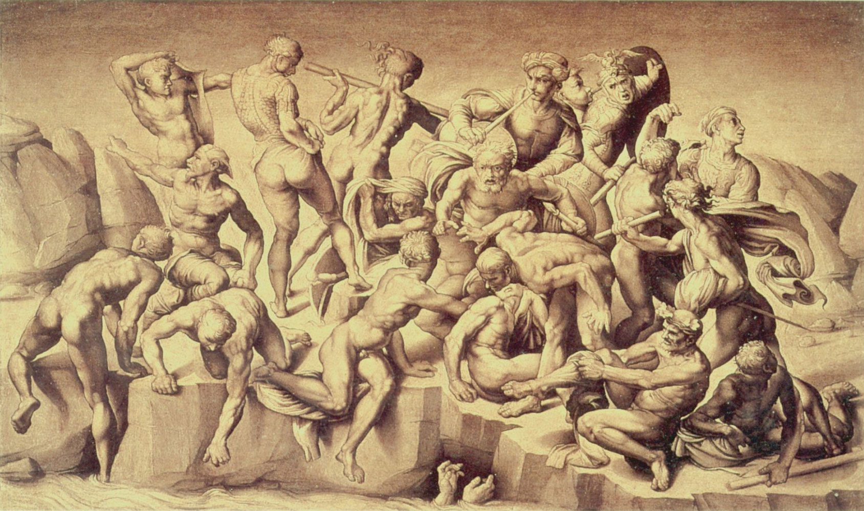 Original file ‎ (1,689 × 1,000 pixels, file size: 391 KB, MIME type ... Michelangelo Battle Of Cascina