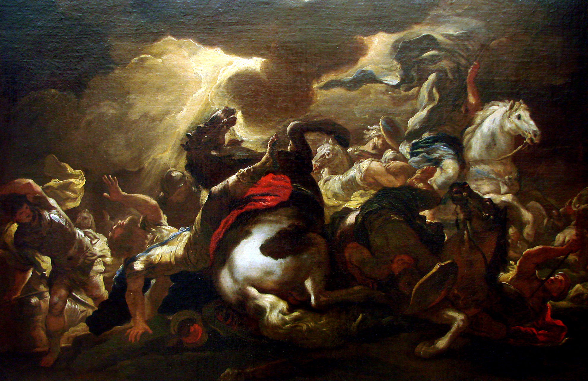 Conversion of St Paul (La conversion de Saint Paul (vers 1690), Luca Giordano (1632–1705) )