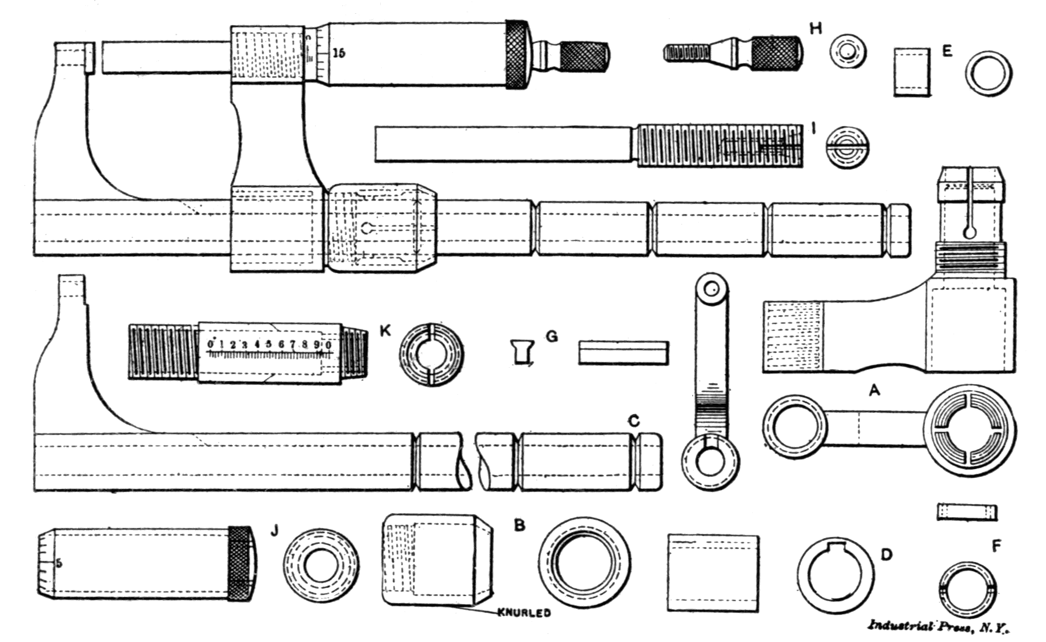 File Measuring Tools Industrial Press Fig 29
